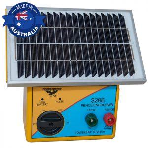Thunderbird S28B Solar Electric Fence Energiser