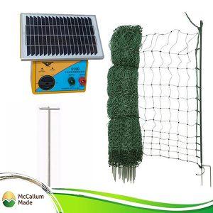 electric poultry net kit 50m s28b energiser