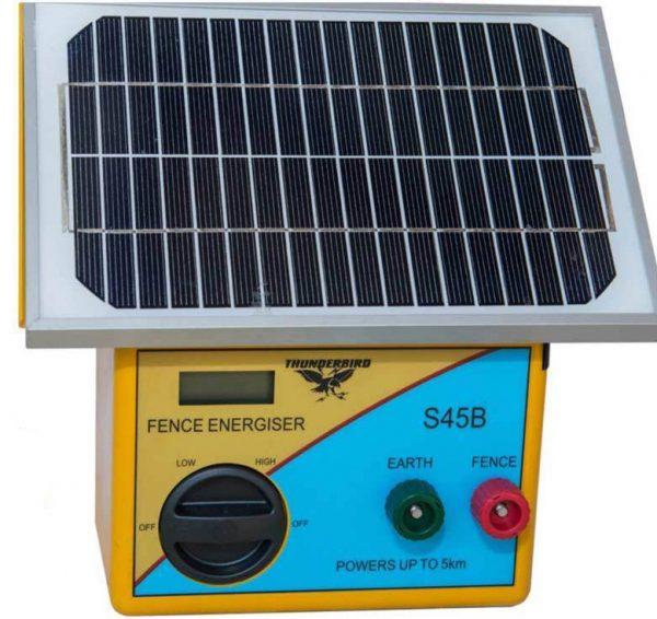 Electric nets - Solar-energiser-Thunderbird-S45b