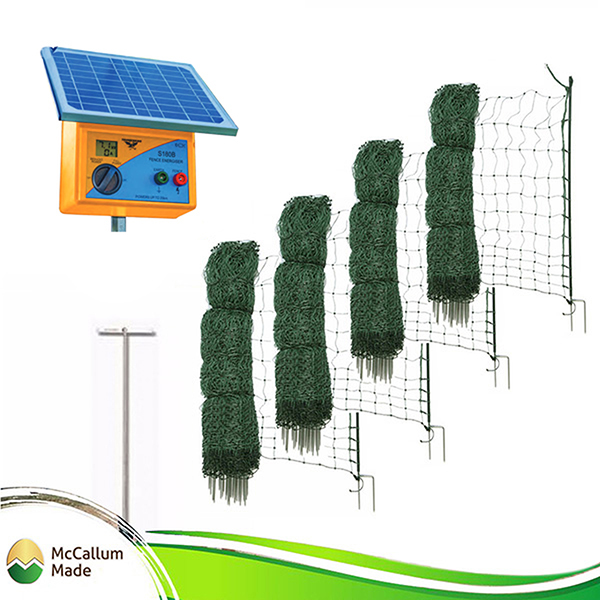 200m electric poultry netting kit