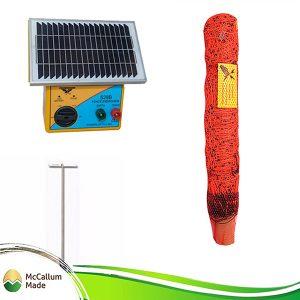 electric goat net kit 50m s28b energiser mccallum made