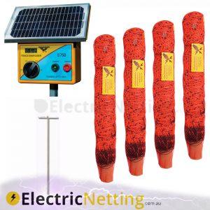 Solar Powered Goat Netting Kits