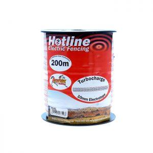 Hotline 200m x 10mm Turbocharge Tape