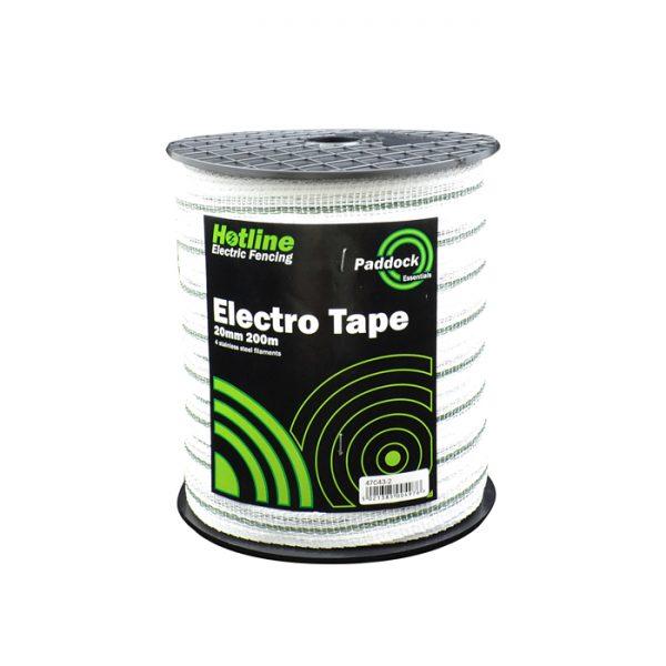 Hotline 200m x 20mm Paddock Electro Tape