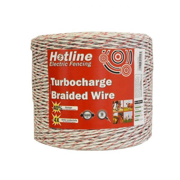 Hotline 200m x 3mm Braided Polywire