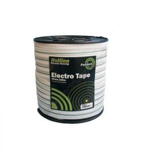 Hotline 200m x 40mm Paddock Electro Tape
