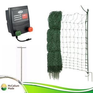poultry netting kitbattery mains 50m