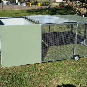Rabbit Hutch and Chicken Coops