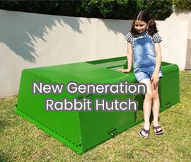 rabbit chicken hutch